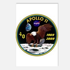 Apollo 11 40th Anniversary Postcards (Package of 8