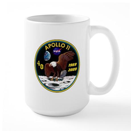 Apollo 11 40th Anniversary Large Mug