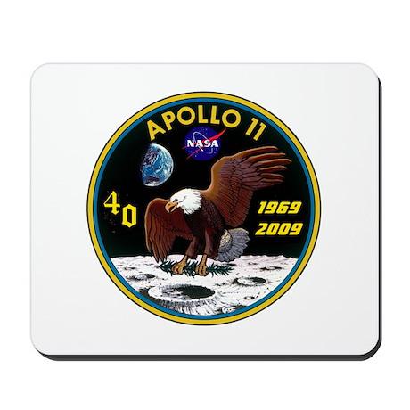 Apollo 11 40th Anniversary Mousepad