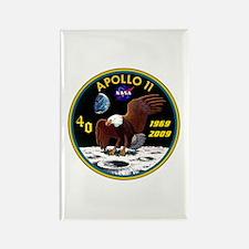 Apollo 11 40th Anniversary Rectangle Magnet