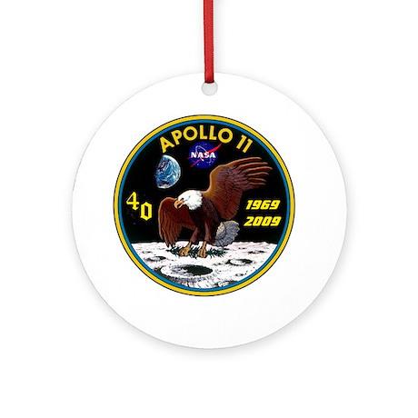 Apollo 11 40th Anniversary Ornament (Round)