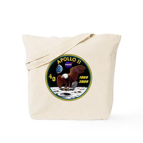 Apollo 11 40th Anniversary Tote Bag