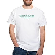 Oscar Wilde quote Shirt