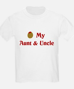 Olive (I Love) My Aunt and Uncle T-Shirt