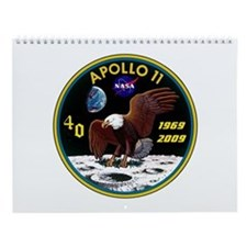 Mission Patch: Apollo 11 Wall Calendar