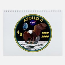 Mission Patch: Apollo 11 Wall Calendar