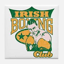 Irish Boxing Club Tile Coaster