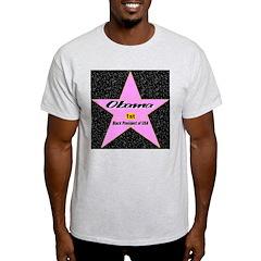 Obama 1st Black President of USA T-Shirt