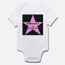 Obama 1st Black President of USA Infant Bodysuit