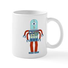 Scary Eyeball Robot Coffee Mug
