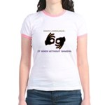 Sign Language: Jr. Ringer T-Shirt