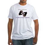 Sign Language: Fitted T-Shirt