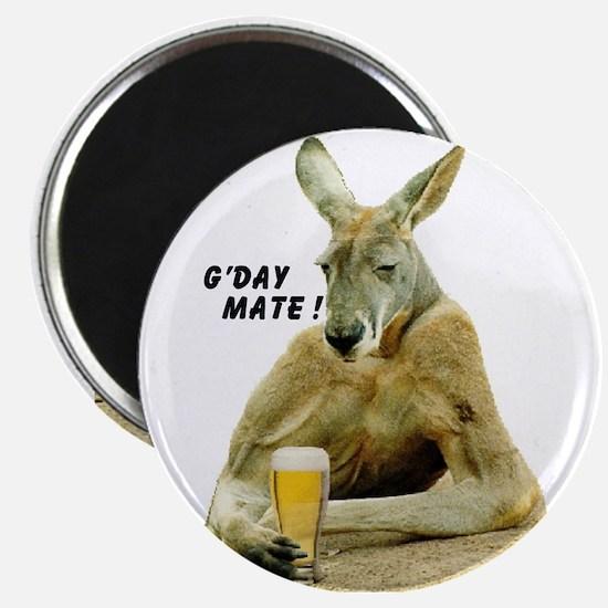 "Cute Kangaroo 2.25"" Magnet (10 pack)"