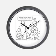 Cute Recess Wall Clock