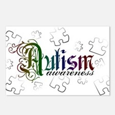 Autism Awareness - Medievel Postcards (Package of