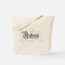 Autism Awareness - Medievel Tote Bag