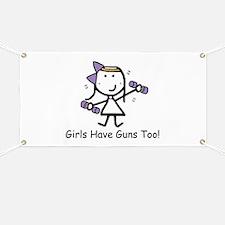 Exercise - Girls Guns Banner