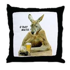 Unique Australia day Throw Pillow