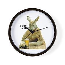 Cute Kangaroo Wall Clock