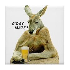Cute Australia Tile Coaster