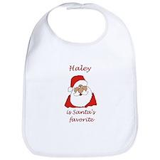 Haley Christmas Bib