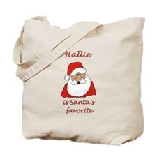 Hallie Christmas Tote Bag