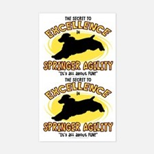 The Secret to Springer Agility Sticker (2 in 1)