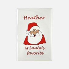 Heather Christmas Rectangle Magnet (10 pack)