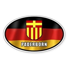 Paderborn coat of arms (white letters)