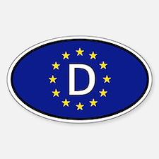 Germany car sticker (Europe)