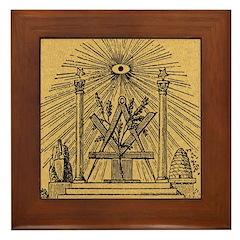 The Pine Altar Framed Tile