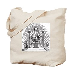 Altar of the Ancients Tote Bag