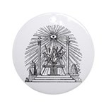 Altar of the Ancients Ornament (Round)