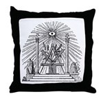 Altar of the Ancients Throw Pillow
