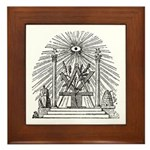 Altar of the Ancients Framed Tile