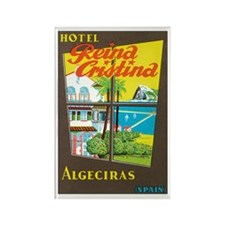 Algeciras Spain Rectangle Magnet