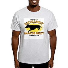 The Secret to Dalmatian Agility T-Shirt