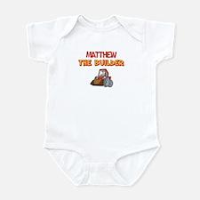 Matthew the Builder Infant Bodysuit
