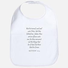 MATTHEW  16:23 Bib