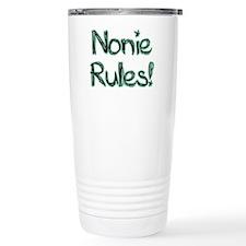 Nonie Rules! Travel Mug