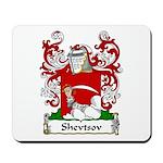 Shevtsov Family Crest Mousepad