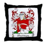 Shevtsov Family Crest Throw Pillow