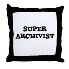 SUPER ARCHIVIST  Throw Pillow