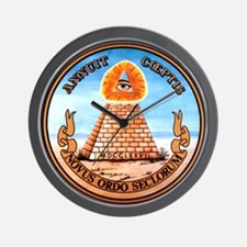 Great Seal of the United States (Reverse) Wall Clo