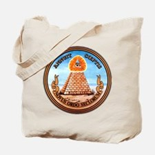 Great Seal of the United States (Reverse) Tote Bag