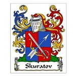 Skuratov Family Crest Small Poster