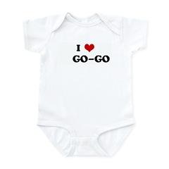 I Love GO-GO Infant Bodysuit