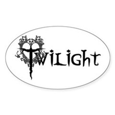 Twilight Movie Oval Decal