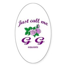 GG Oval Decal