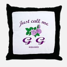 GG Throw Pillow